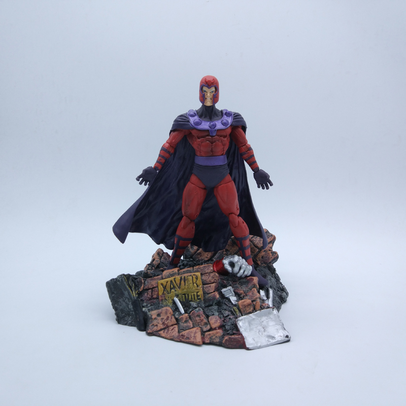 Magneto Özel Collector Edition, Action Figure Model Oyuncak 18 cm