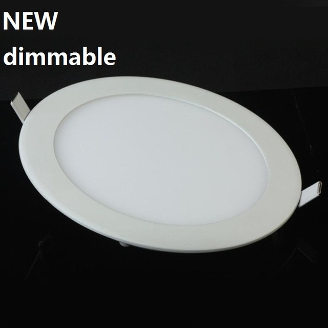 Dim LED Tavan Downlight 6 W 9 W 12 W sürücü ile 15 W gömme led panel ışık